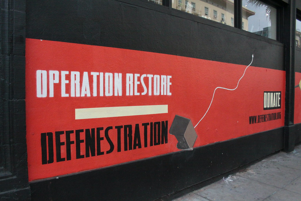 OPERATION RESTORE DEFENESTRATION