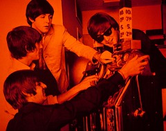 Gambling With Your Friends, The Beatles (Thomas Hawk) Tags: vegas red usa sahara america unitedstates lasvegas nevada unitedstatesofamerica beatles johnlennon paulmccartney georgeharrison ringostar clarkcounty