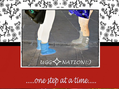 UGG - NATION! Enjoy the trend, who sets the ladies in motion, one step at a time! Magic!:)