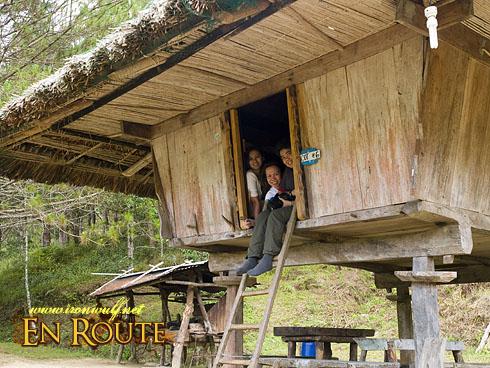 Ethnic Village Ifugao Huts