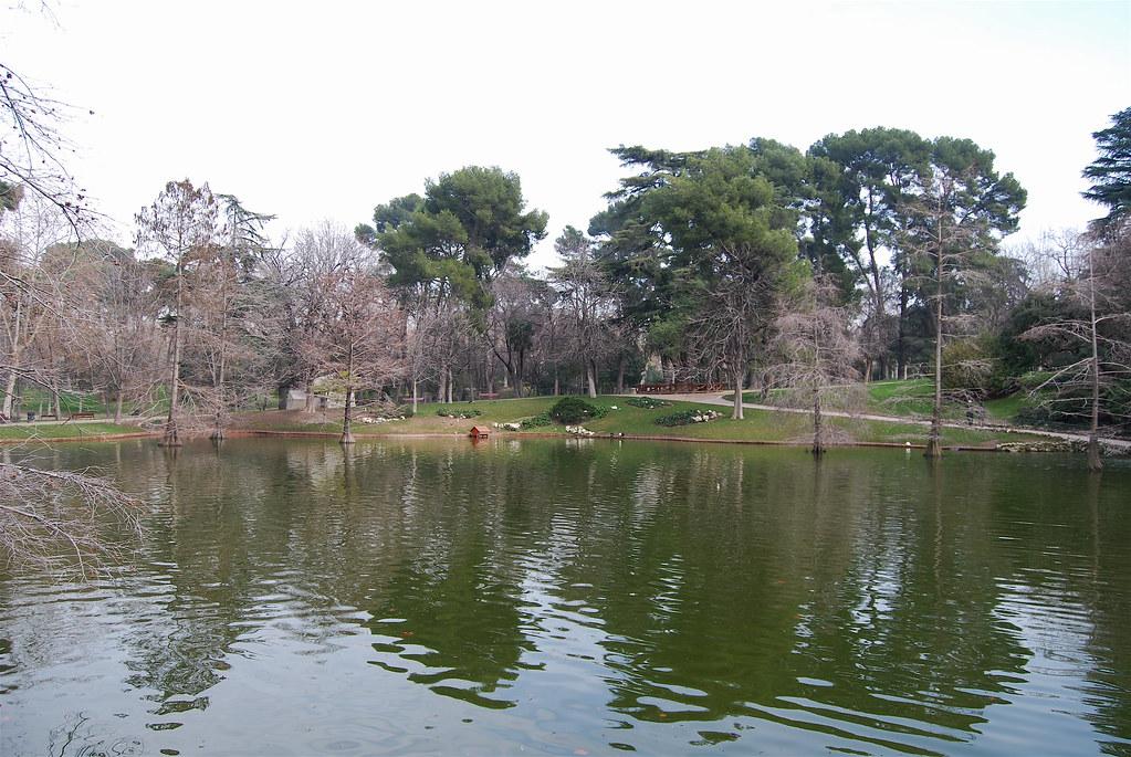 Madrid - Palácio de Cristal - Lago