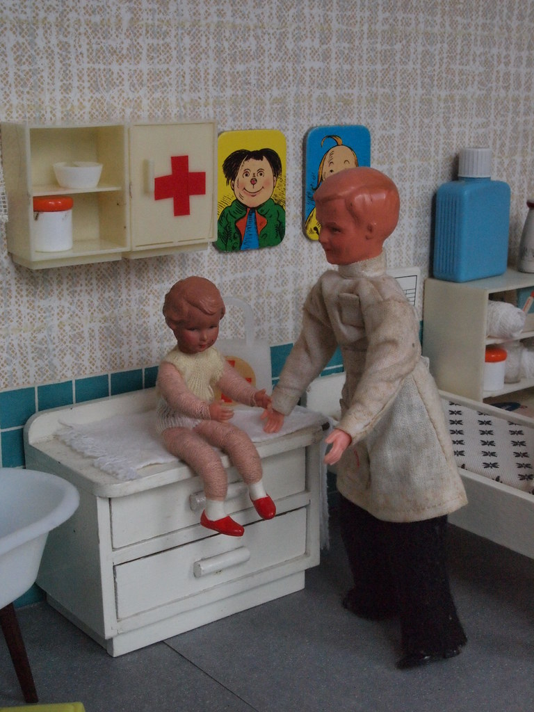 60s children's infirmary Caco doctor