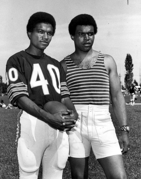 Billy Dee Williams and Gale Sayers