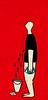 (edilavorochefai) Tags: red illustration eyes occhi teardrop illustrazione piangere