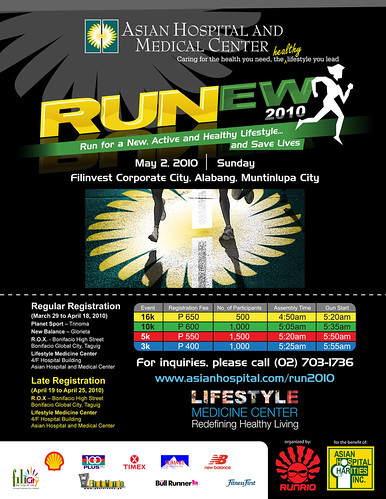 Runew 2010 race results