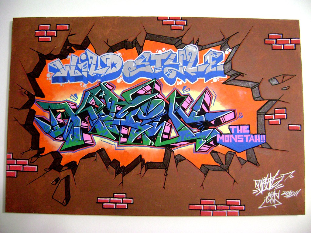Kico nsk tags wild graffiti canva style canvas porto