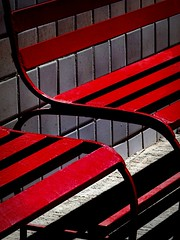 benches at the 'happy chicken' (msdonnalee) Tags: red rot bench tile mexico rouge rojo shadows seat vermelho explore silla mexique seating rosso sedia chaise stuhl mexiko cadeira  haveaseat  tiledwall redbench pleasetakeaseat abigfave ifyouseeredshootit colorphotoaward aplacetosit theunforgettablepictures colorartaward artlegacy artofimages photosfromsanmigueldeallende parkyourcarcass bestcapturesaoi elitegalleryaoi