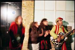 2009 05 17_Moriarty on tour_London 100 Club 23 (mnemotopy) Tags: leica england london film tour unitedkingdom soho band m6 100club moriarty leicasummicron35mmf20iv