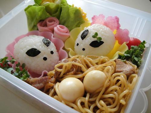 Easter Bunnies Bento