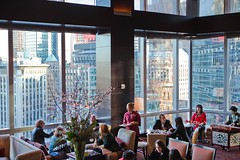 the Lobby Lounge at the Mandarin Oriental (ZagatBuzz) Tags: newyork zagat mandarinoriental zagatpresents