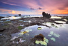 April Fools + Happy Easter Everyone :) (tropicaLiving - Jessy Eykendorp) Tags: sunset bali seascape beach nature water colors canon indonesia landscape photography eos outdoor echo 1022mm aprilfool happyeaster canggu 50d