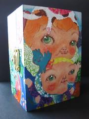 catman (bettycat) Tags: sky green art painting fly box catman
