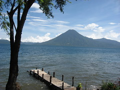 Dock on Lake Atitlan