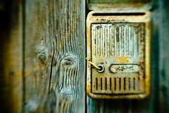 half-closed mailbox