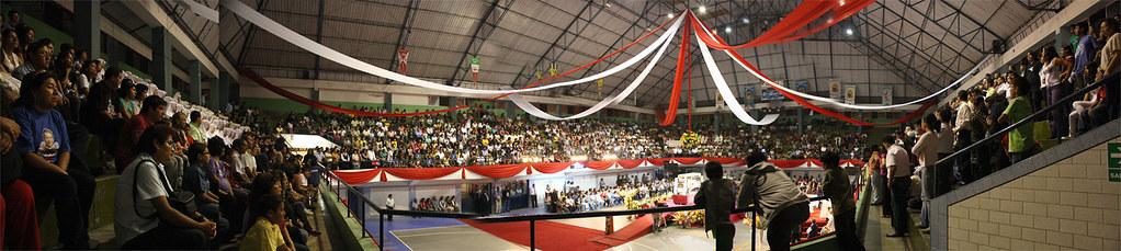 Panorámica desde el segundo piso del Coliseo del Colegio Salesiano Lima  Perú (emilio crearperu) 140a9507b26