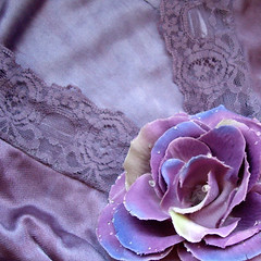 Mauve Slip (ruby*and*olive) Tags: woman flower floral girl fashion lady vintage design hand dress purple lace pastel craft sew created made stunning mauve slip etsy dyed sewn madeit