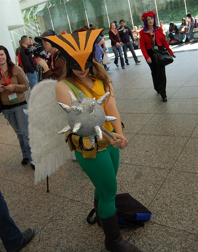 WonderCon 2010: Hawk Girl