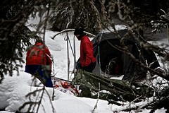 Vintertelting - Telting om vinteren