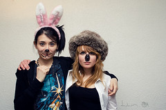 29 (Dwam) Tags: birthday party paris rabbit bunny emilia koala magda spleen chapka dwam