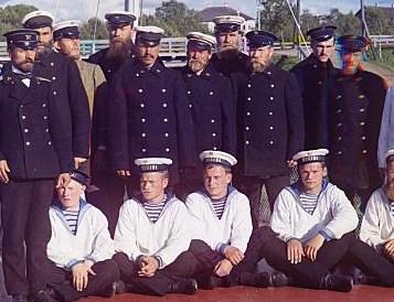 Russian Bolshevik Sailor Uniforms