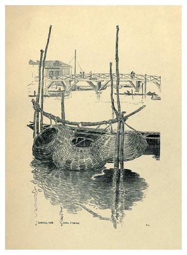 020-Nasas para langostas cerca de San Pietro-Venice  a sketch-book 1914- Richards Fred