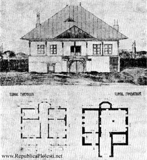 Casa Hagi Prodan - Releveu de Toma T Socolescu