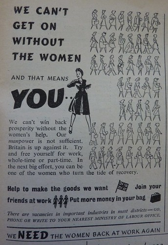 We NEED the women back at work again