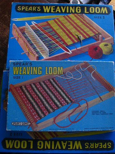spears weaving loom 2 and 1