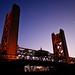 Tower Bridge in Sacramento by Beau Hause