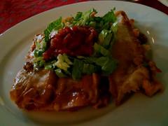 Pinto Bean Enchiladas