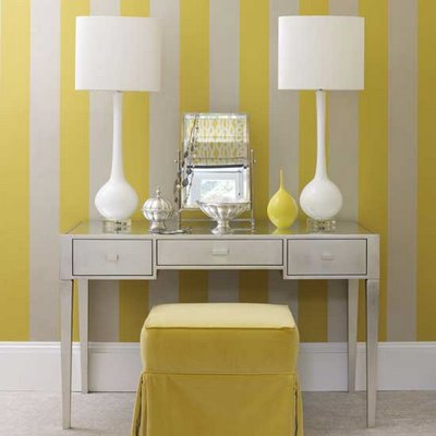 yellow-striped-home-office