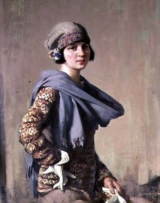 """The Fair-Isle Jumper,"" Stanley Cursiter 1887-1976"