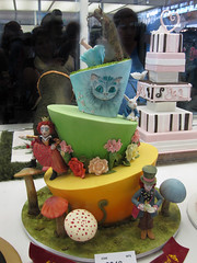 Alice in Wonderland (synthetic adventures) Tags: show cake easter decoration sydney australia competition icing 2009 2010 sydneyroyaleastershow annamariaroche