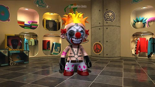 Sweet Tooth in ModNation Racers