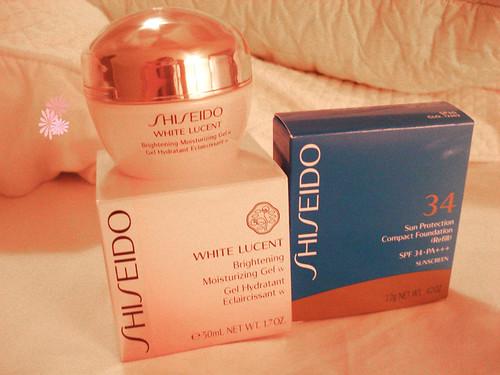Shiseido haul