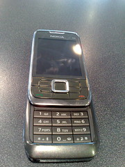 Nokia E66 slide open