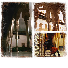 Alhambra, Granda, Spanien im Sept. 2009