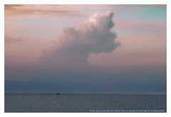 the-sailing-boat-and-its-cloud (Michele Cannone) Tags: ocean pink sunset sea sky nature clouds landscape boat sailing nikonflickraward