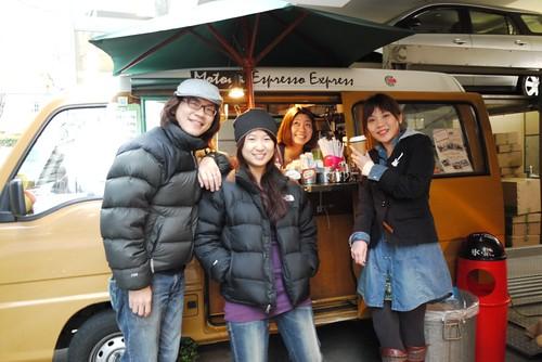 可愛咖啡車@表參道