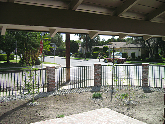 Front Yard+Rock Removal -1