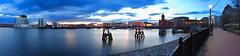Wide Angle Bay (Antony....) Tags: panorama geotagged dusk sony cardiffbay geo:lat=51461626 geo:lon=3162159 sweeppanorama sonydsch55 dsch55