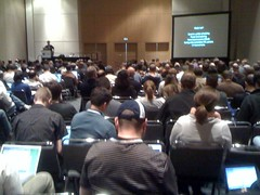 The Feeds module panel is packed #Drupalcon