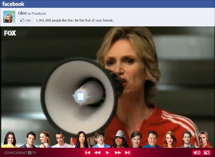 Glee interactive trailer