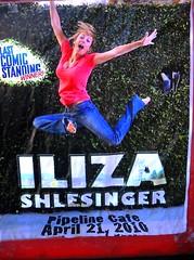 Iliza Shlesinger comedy concert flyer - Last Comic Standing winner at the Pipeline Cafe on April 21, 2010 (kalihikahuna74 (Ryukyu Khan or Okinawa808)) Tags: hawaii cafe concert flyer comedy comic oahu 21 winner april honolulu pipeline 2010 comedienne lastcomicstanding iliza shlesinger