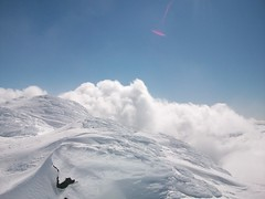 Up in the Clouds (cozmo54901) Tags: clouds oregon bend snowboard sunriver mtbachelor