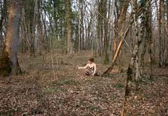 103|365 (Freddie Jeanrenaud) Tags: summer sunlight forest switzerland woods dress boisdechaine