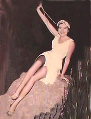 Me, flapper, legs, heels, pin up on a rock. (Sugarbarre2) Tags: show party vacation people woman baby white hot love stone night vintage dark mom fun happy big high mujer friend toes legs time body s babe wife heels granny pantyhose nylon busty