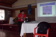 Ernesto en conferencia (altaimpedancia) Tags: software electronica libre ernesto conferencia duitama altaimpedancia
