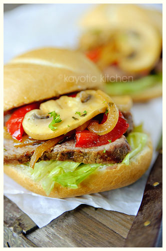 Old-School Steak Sandwich