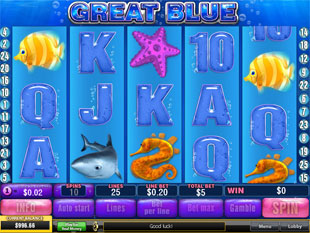 Great Blue Slots - Download Play Online Slot Machine ...